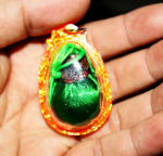 Blessing Mani Pills (green), Big Size, Tibetan Amulet