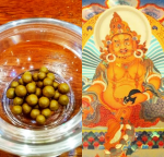 Blessing Yellow Zambala Dhamma Pills, Holy Pills
