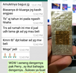 Blessing Testimoni Never Lack of Money Yant 2