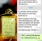 Blessing Testimoni Holy Rice Buddha