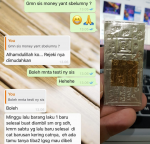 Blessing Testimoni 14  Never Lack Of Money Yant, Phra Ajhan O