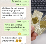 Blessing New Testimoni Never Lack Of Money Yant, Phra Ajhan O