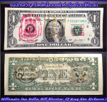 Blessing Billionaire One Dollar Bill (Version Lp. Kong Give Richness) by Phra Arjarn O Petchabun