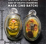 BlessingBuddha.Com God Of Death Charming Mask 2nd batch, Phra Ajhan O